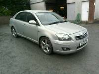 07 Toyota Avensis D4D Diesel 5 door Full 12 MTS Mot Aug 18 Nice Spec ( can be viewed anytime)