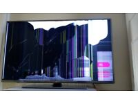 LG TV 47 inch with CRACK SCREEN