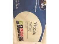 Silent Night Miracoil 4 Memory Double Mattress