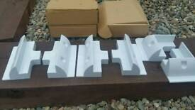 Solar panel mounting brackets. New. Could post.