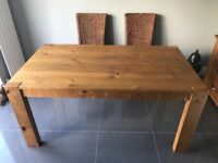 Next Kendal extending dining table. Great condition
