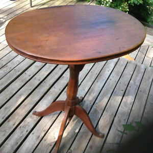 Great old pedestle table.