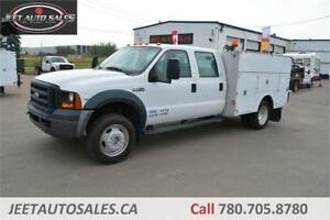 2007 Ford Super Duty F-550 DRW XL 6.8L V10 9' Service Body
