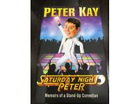 Peter Kay - Saturday Night Peter - hardback - new