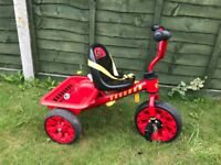 Red Childs Tricycle