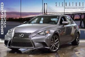 2014 Lexus IS 350 F SPORT GPS NICE CAR AWD