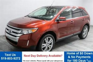 2014 Ford Edge LIMITED V6 AWD! LEATHER! NAVIGATION! $83/WK, 4.75