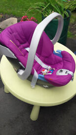 Cybex Mammas & Pappas car seat, hardly used.. Wants a new home