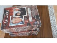 Collection of 12 DVDs Taggart