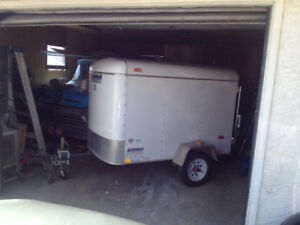 Small Covered Trailer For Sale