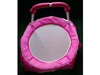 Indoor Kid's Toddler Trampoline – Pink
