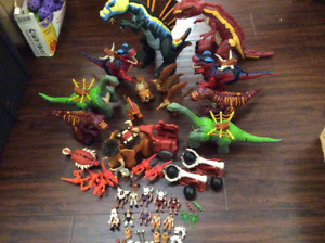Fisher Price Imaginext dinosaur playsets