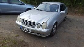 Mercedes-Benz CLK 2.3 CLK230 Kompressor Avantgarde 2dr£795 NEW MOT 2002 (02 reg), Coupe