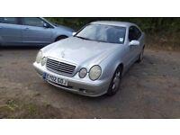 Mercedes-Benz CLK 2.3 CLK230 Kompressor Avantgarde 2dr£795 NEW MOT 2002 (02 reg), Coupe