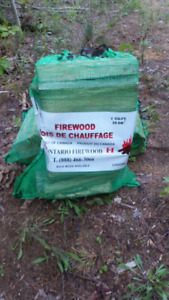 1 cubic ft Firewood Bags ( competitive pricing )