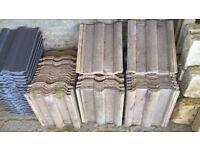 Redland 50 Double Roman Tiles - Cotswold Colour