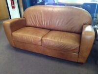 Leather Sofa for sale OA £80.00+