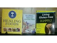 COOK BOOKS GLUTEN FREE & HEALING FOODS