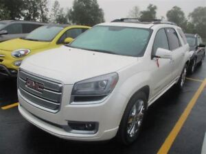 2013 GMC Acadia DENALI AWD 7-PASS! LEATHER! NAV! SUNROOF! $137/W