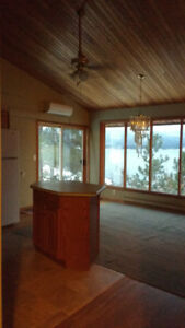 Lakefront home near Ainsworth (Nelson 45min) rent 3-1 room/s