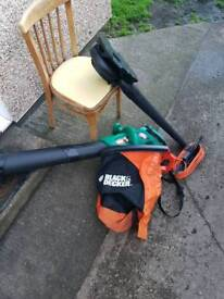 Black & Decker Leaf Blower/Hoover
