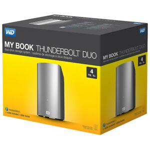 MY BOOK THUNDERBOLT DUO 4 TO WESTERN DIGITAL