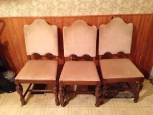 Antique Dining set, buffet, and hutch