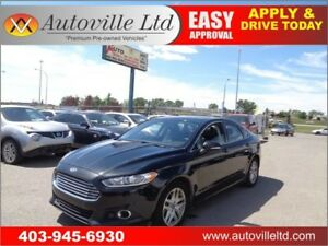 2015 Ford Fusion SE EcoBoost Leather Sunroof B.Cam