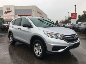2016 Honda CR-V LX | ONE OWNER | REAR CAM | BLUETOOTH | FWD |