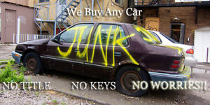 CASH for your unwanted junk/scrap car truck,van 226-700-4815