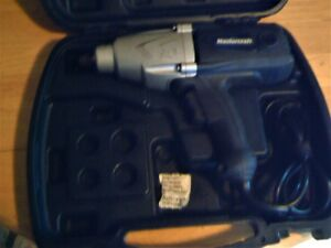 mastercraft 1/2 electric impact wrench 7.5A 240 ft-lbs of torque