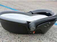 Britax flat car seat