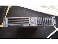 HP Data Domain Server DL380G5 ProLiant 8 Port Quad Core 2.66Ghz Processor 144Gig Drive