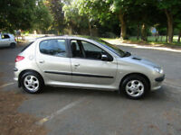 Peugeot 206 1.6 Allure**42,000 MILES**TOP OF THE RANGE**IMMACULATE**5 DR HATCH**