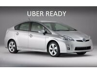 UBER READY PCO TOYOTA PRIUS FOR RENT/HIRE FROM £12O PER WEEK