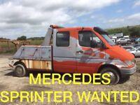 Mercedes Sprinter 310 D 312 D 412 D Wanted