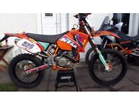 KTM 525 EXC fully rebuild,not only engine