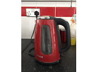 Breville Kettle Red Large Used But In Fully Working Condition