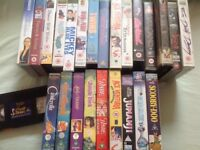 Job Lot VHS tapes, children s, Disney and mixed viewing