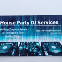 House Party DJ services call 261- 7108