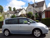 (2008) RENAULT ESPACE DYNAMIQUE DCi 150 MPV 7 SEATER 1 LADY OWNER/ONLY 75K MILES/FULL DEALER HISTORY