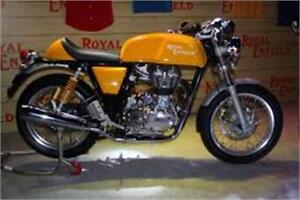 Royal Enfield Gt  Jaune $29.75/semaine