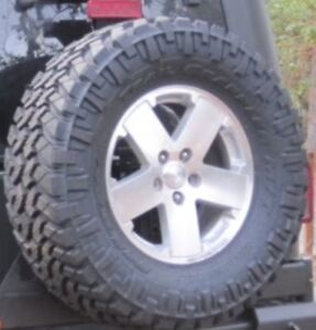 5 35/12.50/17 Nitto Trail Grappler Tires