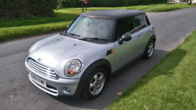 2007 MINI COOPER 1.6 T/DIESEL *** 1 YEARS MOT, 80,000 MILES, £20 TAX ***