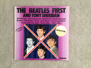 The Beatles First and Tony Sheridan 33 1/3 RPM vinyl LP
