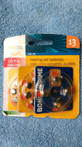 HEARING AID Batteries - 4 Types - CHEAP 50 cents each.
