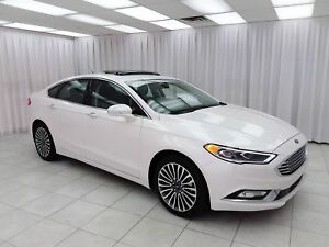 2017 Ford Fusion SE AWD ECOBOOST SEDAN w/ BLUETOOTH, NAVIGATION,