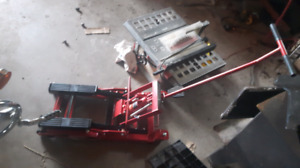 Brand new motorcycle atv lawn tractor jack.
