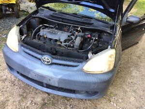 1999-2005 Toyota Echo/Yaris engine + trans 1.5L 1nz-fe