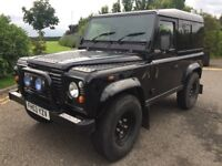 2003 (53) LAND ROVER DEFENDER 90 2.5 TD5, COUNTY, MASAI PANORAMIC GLASS SIDE WINDOWS, LOW MILES, MOT
